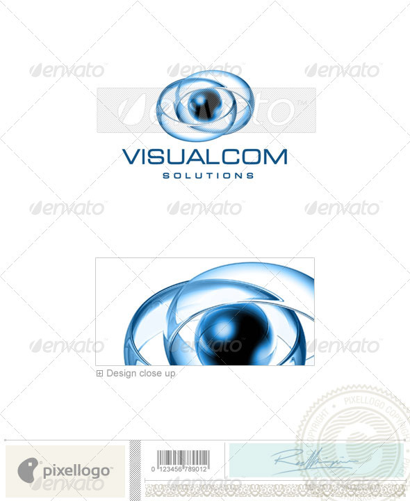 GraphicRiver Communications Logo 3D-418 496835