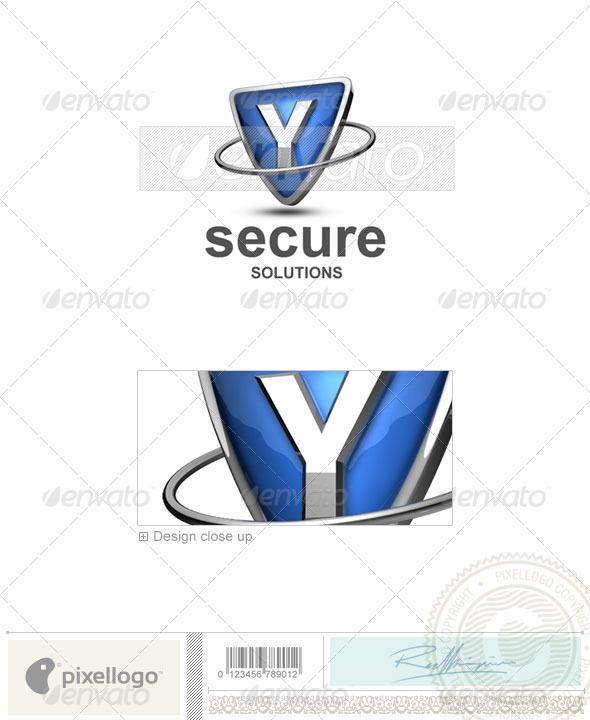 GraphicRiver Y Logo 3D-285-Y 496842