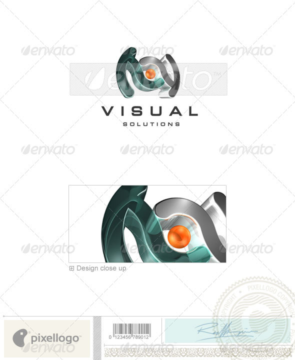 GraphicRiver Activities & Leisure Logo 3D-69 496925