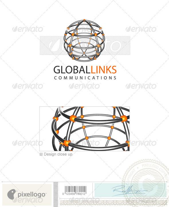 GraphicRiver Communications Logo 3D-20 496949