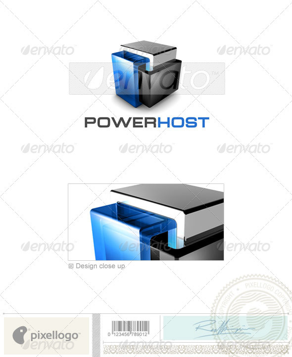 GraphicRiver Technology Logo 3D-461 496955