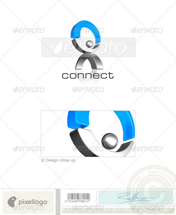 GraphicRiver Business & Finance Logo 3D-153 496967