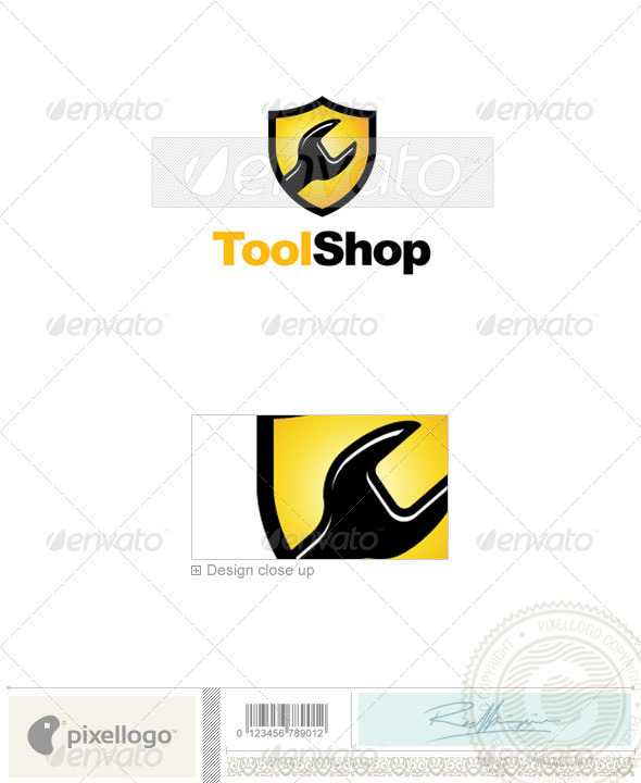 GraphicRiver Industry & Science Logo 2173 496968