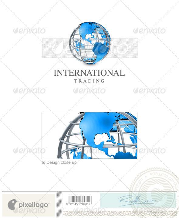 GraphicRiver Communications Logo 3D-421 497006