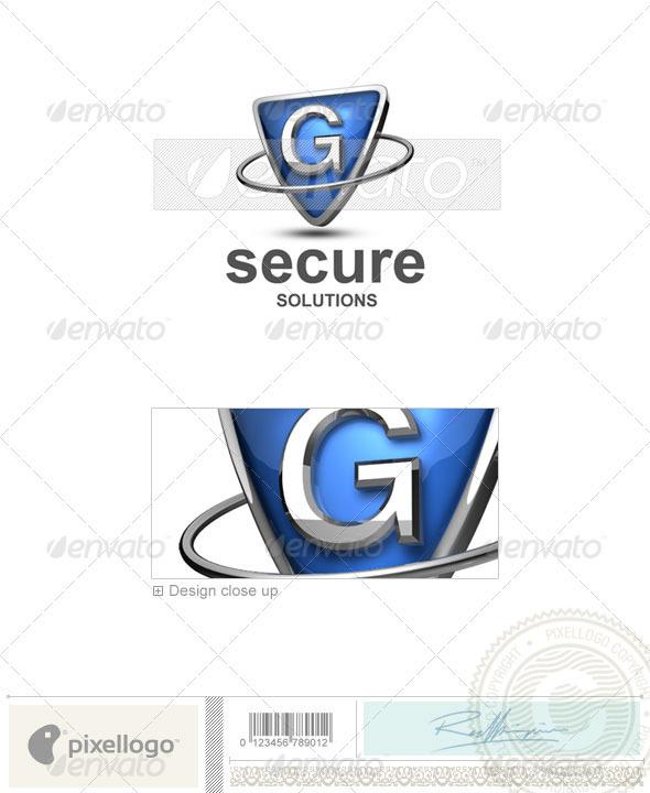 GraphicRiver G Logo 3D-285-G 497010
