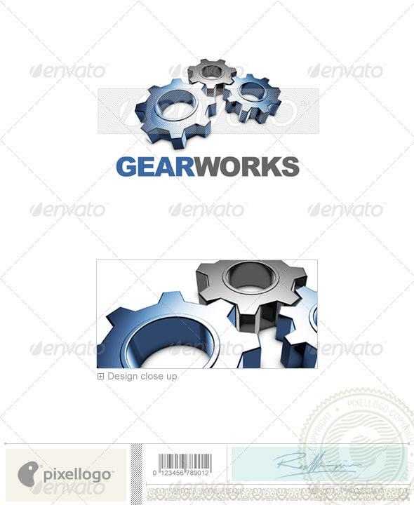 GraphicRiver Print & Design Logo 3D-441 497033