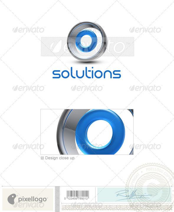 GraphicRiver O Logo 3D-288-O 497037