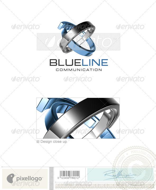 GraphicRiver Communications Logo 3D-435 497038