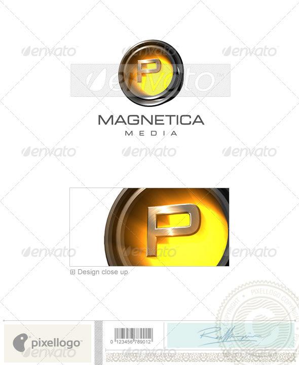 GraphicRiver P Logo 3D-238-P 497040