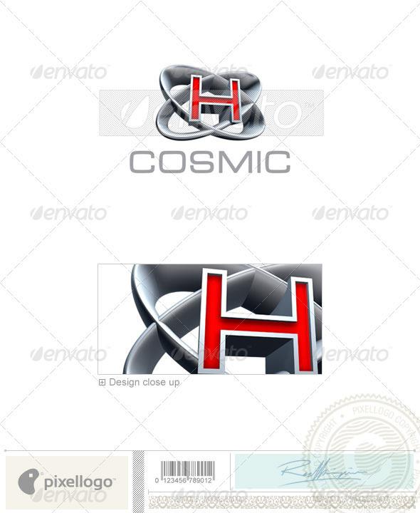 Logo - 3D-348-H ...H Logo 3d