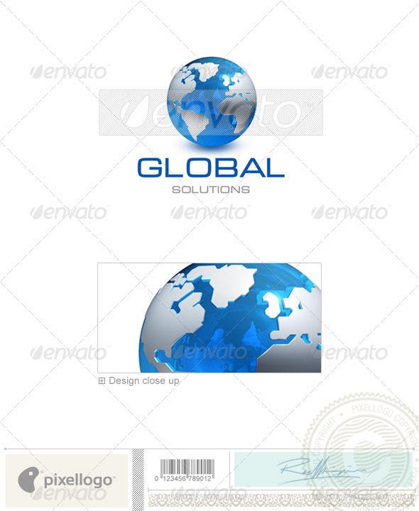 GraphicRiver Communications Logo 3D-237 497068