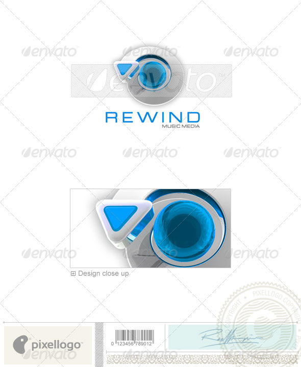 GraphicRiver Activities & Leisure Logo 3D-40 497069