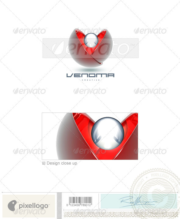 Graphic River Communications Logo 3D-86 Logo Templates -  Abstract  3d 497080
