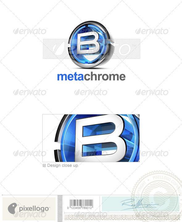 GraphicRiver B Logo 3D-476-B 497081