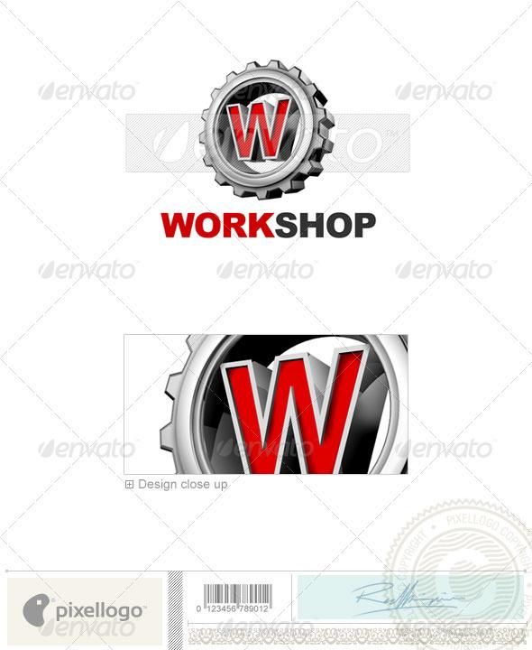GraphicRiver W Logo 3D-292-W 497093