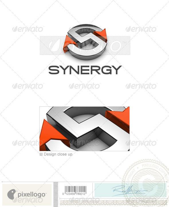 GraphicRiver Technology Logo 3D-676 497106