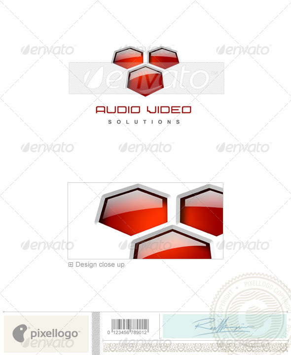 Graphic River Activities & Leisure Logo 3D-121 Logo Templates -  Abstract  3d 497112