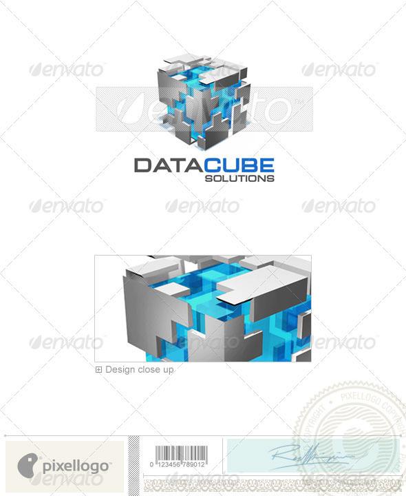 GraphicRiver Technology Logo 3D-341 497146