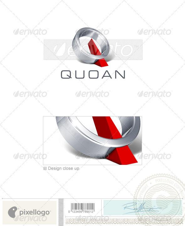 Logo - 3D-277 - ...Q Logo 3d