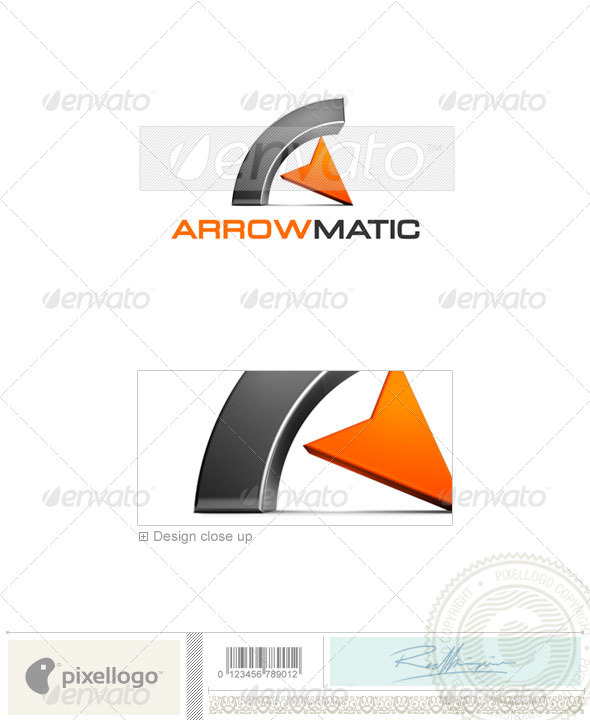 GraphicRiver Business & Finance Logo 3D-354 497223