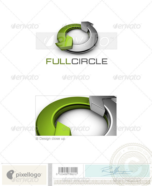 GraphicRiver Communications Logo 3D-480 497262