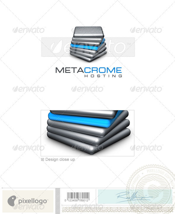GraphicRiver Technology Logo 3D-328 497264