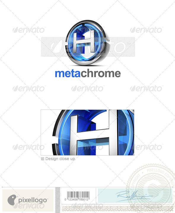 GraphicRiver H Logo 3D-476-H 497278