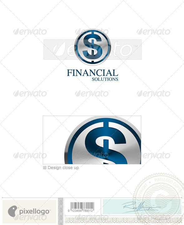 GraphicRiver Business & Finance Logo 3D-73 497280