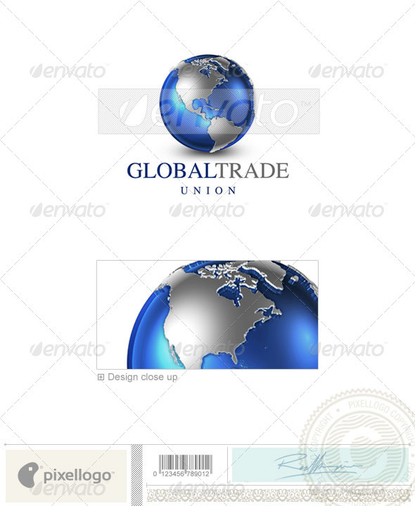 GraphicRiver Communications Logo 3D-22 497294