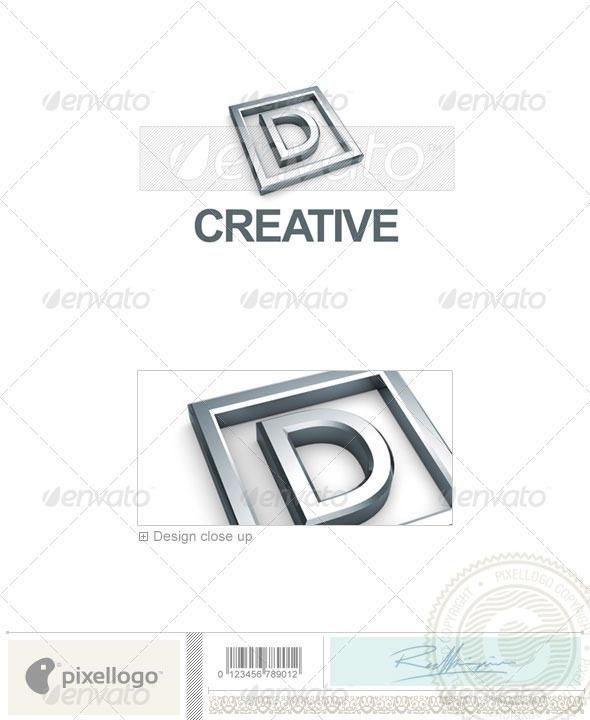 GraphicRiver D Logo 3D-295-D 497322