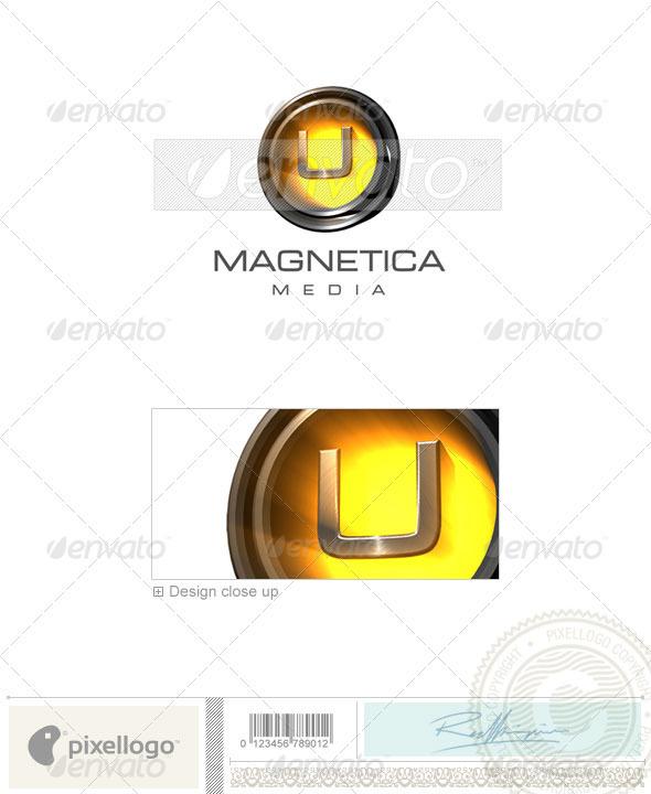 GraphicRiver U Logo 3D-238-U 497364
