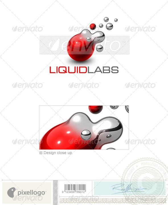 GraphicRiver Communications Logo 3D-440 497374