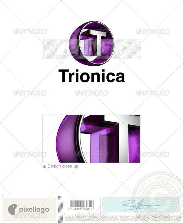 GraphicRiver T Logo 3D-438-T 497380