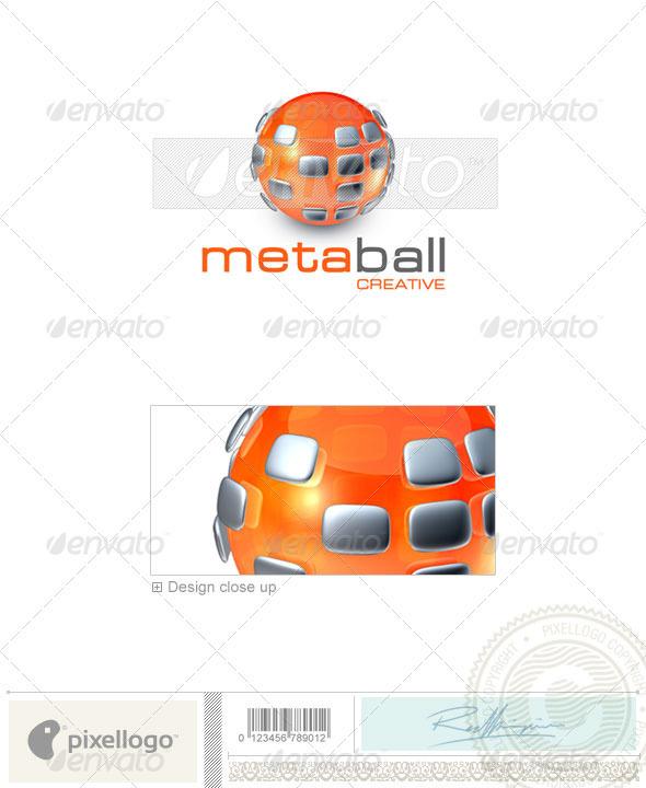 GraphicRiver Communications Logo 3D-355 497383
