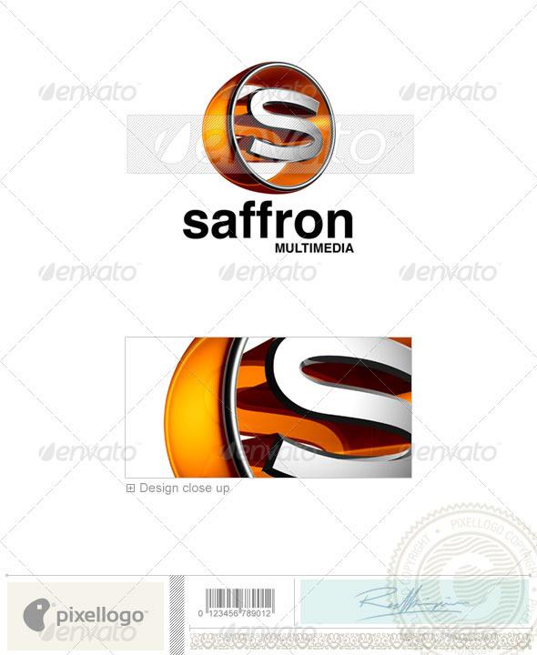 GraphicRiver S Logo 3D-438-S 497391