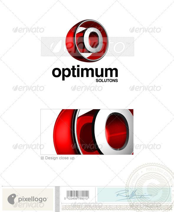 GraphicRiver O Logo 3D-438-O 497402