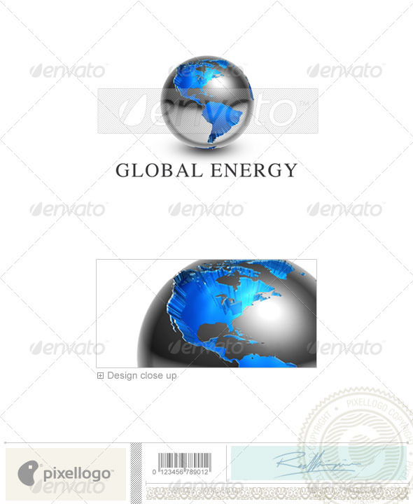 GraphicRiver Communications Logo 3D-458 497439