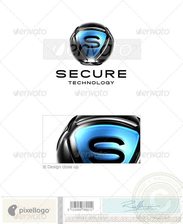 GraphicRiver Business & Finance Logo 3D-462 497443