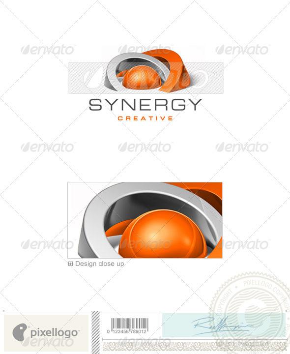 GraphicRiver Communications Logo 3D-257 497475