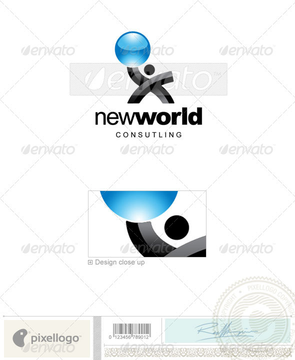 GraphicRiver Business & Finance Logo 2145 497493