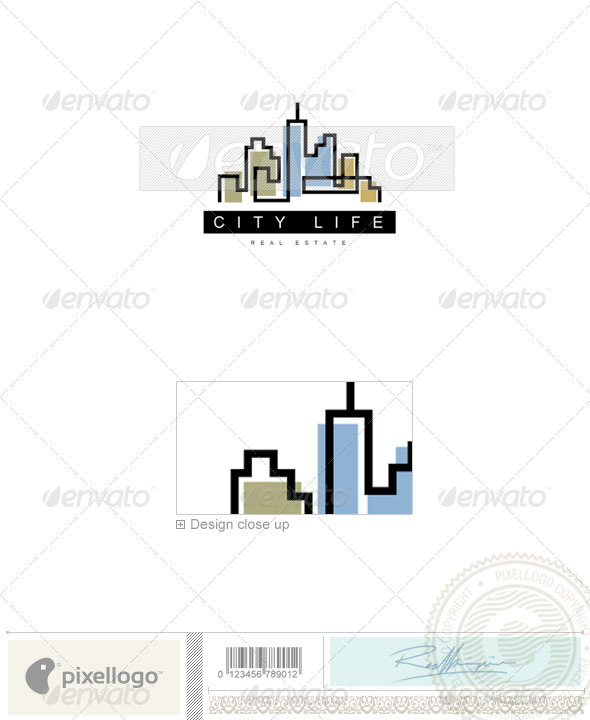 GraphicRiver Home & Office Logo 600 497535
