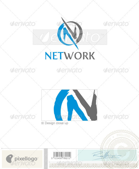 GraphicRiver Communications Logo 1863 497540