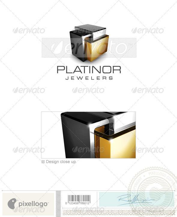 GraphicRiver Technology Logo 3D-15 497577