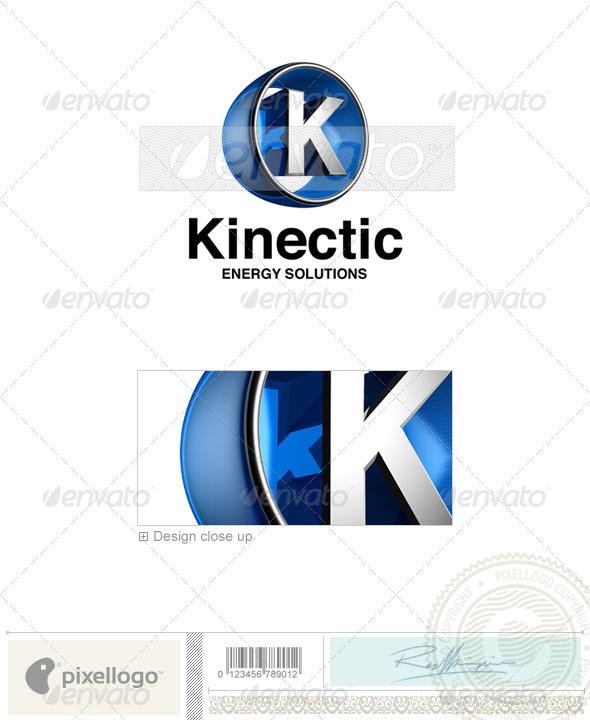 Logo - 3D-438-K ...K Logo 3d