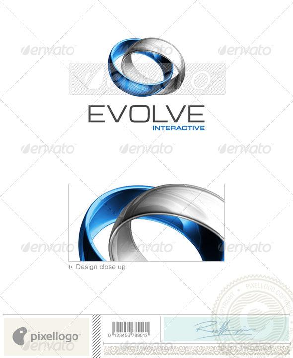 GraphicRiver Technology Logo 3D-399 497614
