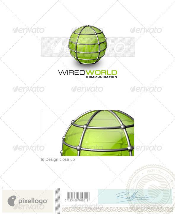GraphicRiver Communications Logo 3D-159 497618
