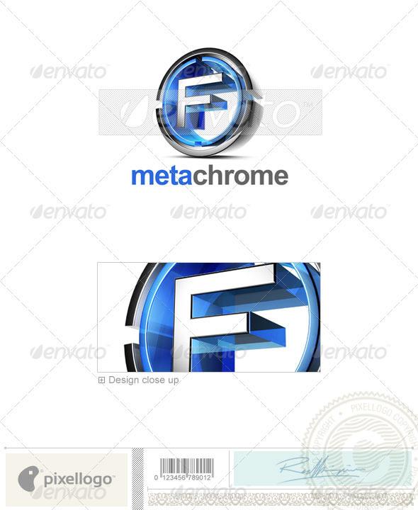 GraphicRiver F Logo 3D-476-F 497634