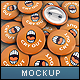 Badges Mock-up - GraphicRiver Item for Sale