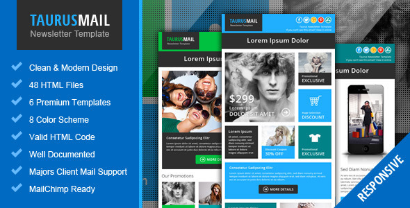 25 email newsletter templates.