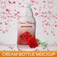 Cream Bottle Mockup - GraphicRiver Item for Sale